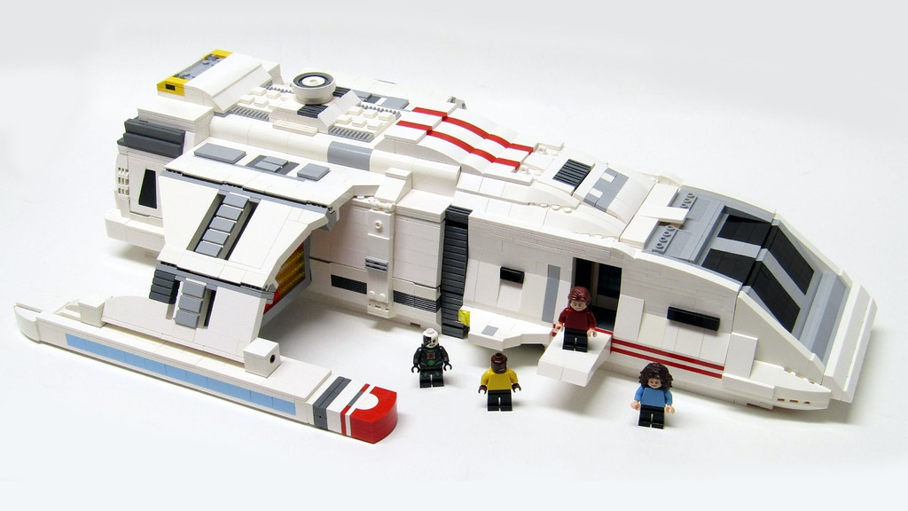 Project image for Instructions for a LEGO Star Trek Shuttle