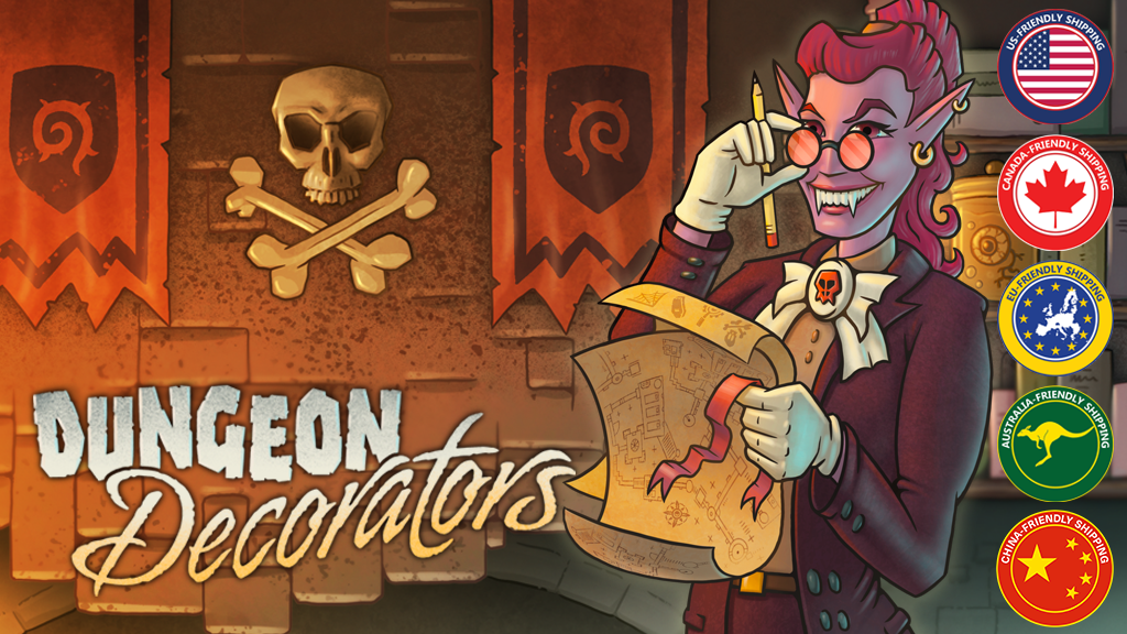 Dungeon Decorators project video thumbnail