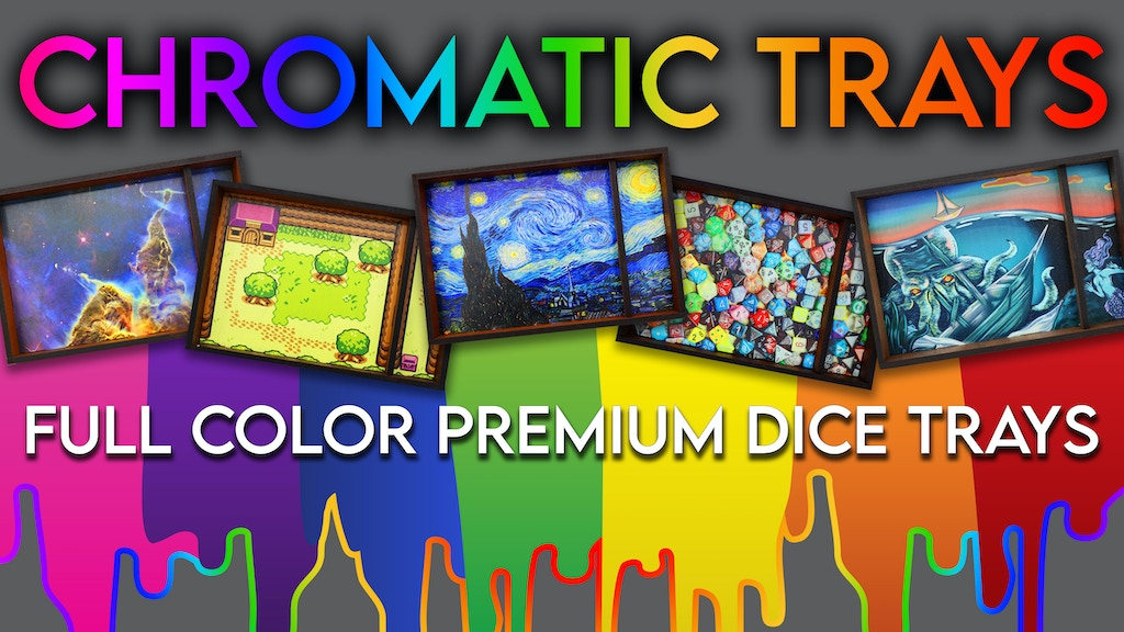 Project image for Chromatic Trays: Full Color Dice Trays