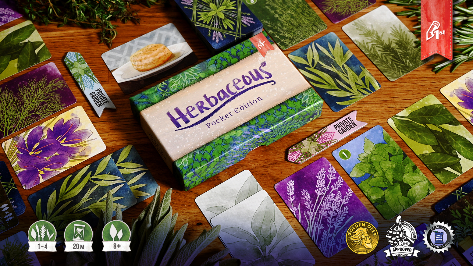 A new, compact version of Herbaceous that's just as relaxing and beautiful as the original