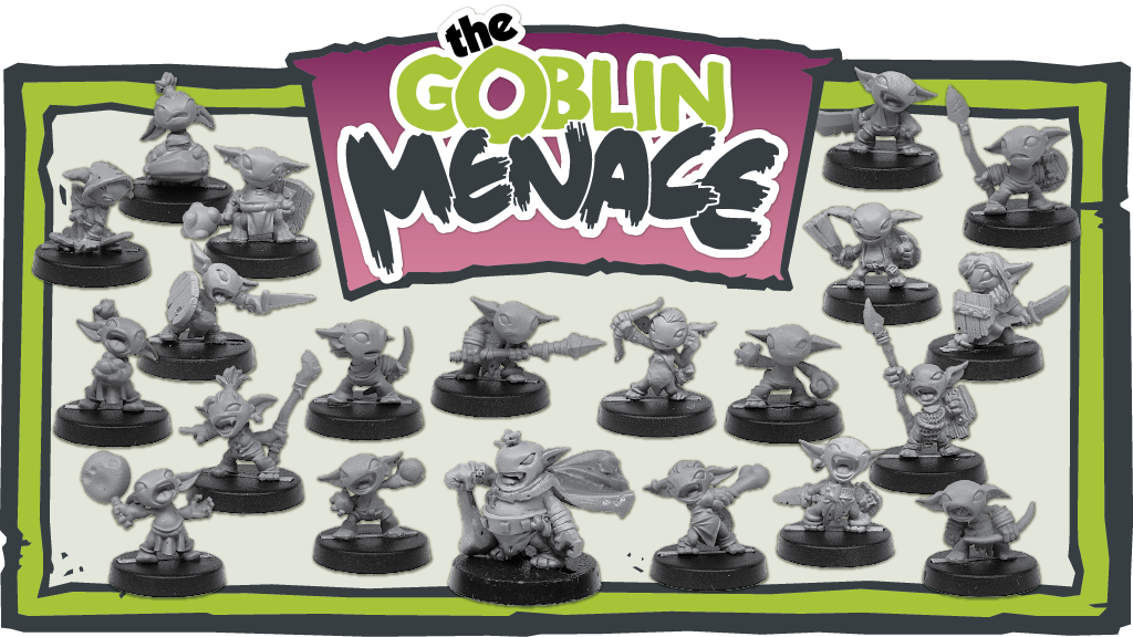 Project image for The Goblin Menace - 28mm Miniatures