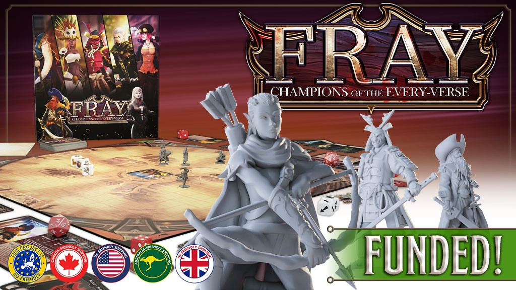 Fray - Champions of the Every-Verse project video thumbnail