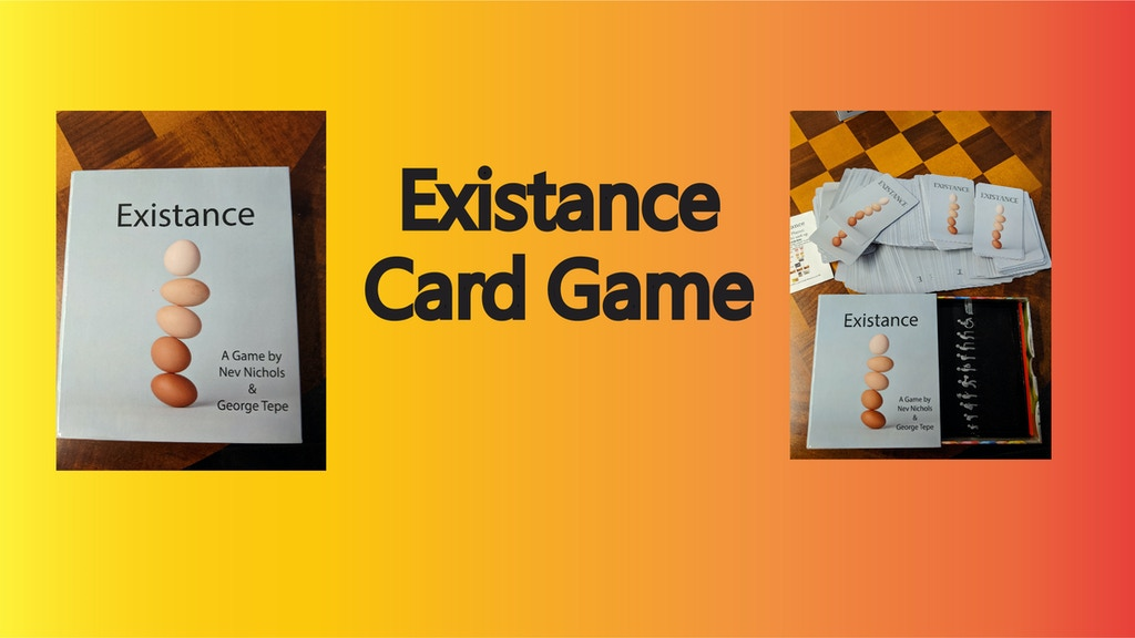 Project image for Existance Card Game