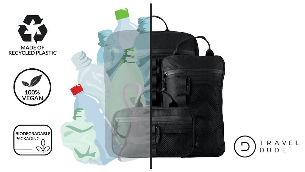 From Packing Cubes to Daybags - Made of recycled plastic project video thumbnail