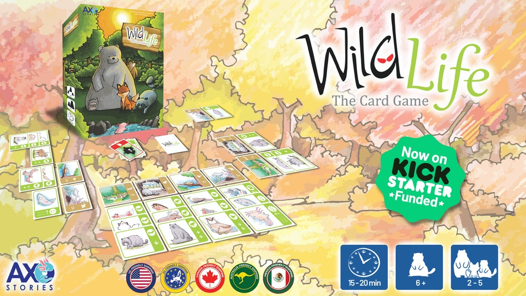 Wild Life the Card Game - New Cycle project video thumbnail