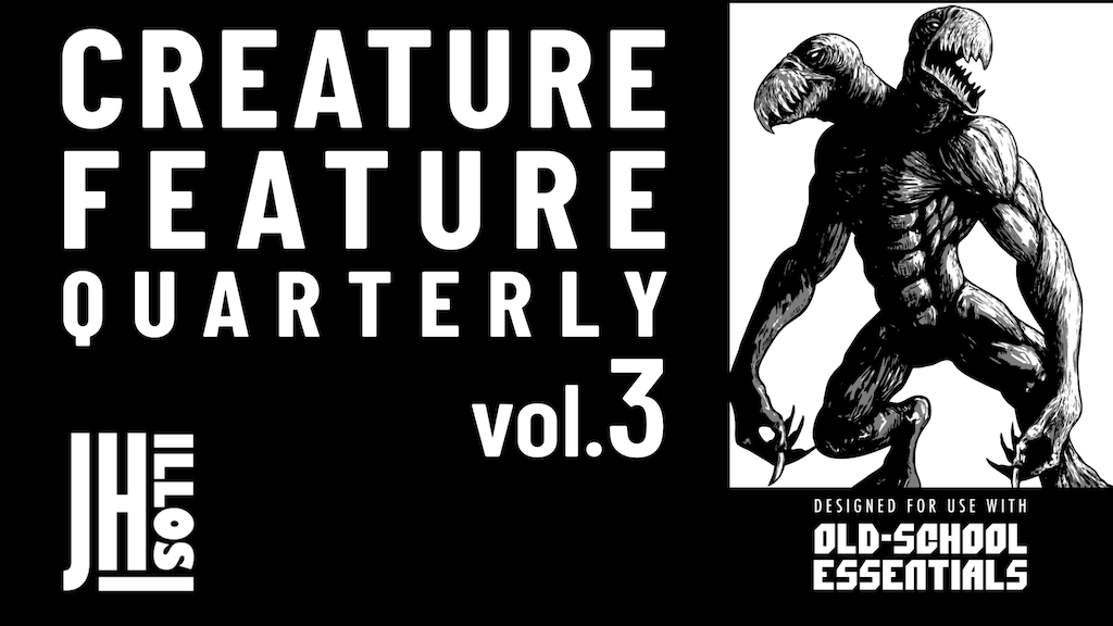 Project image for Creature Feature Quarterly Vol. 3 -for use with- OSE