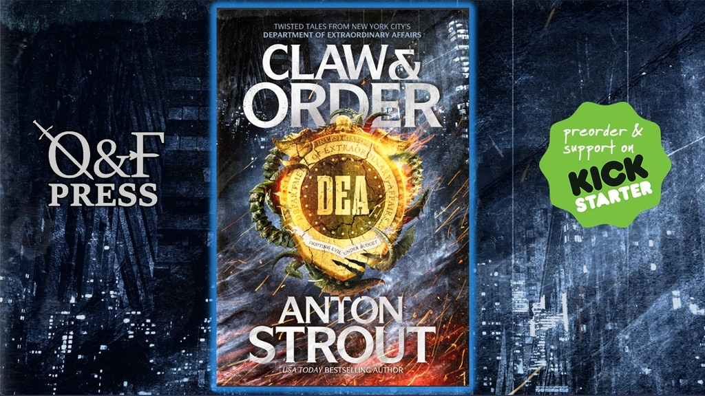 Claw & Order: an urban fantasy anthology set in NYC project video thumbnail