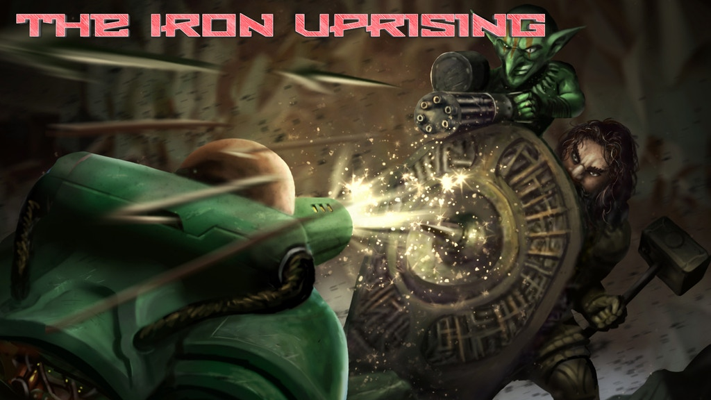 Project image for The Iron Uprising: Wanderer Gamebook+ Book 2