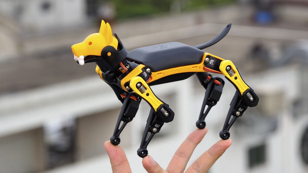 Petoi Bittle: A Palm-sized Robot Dog for STEM and Fun project video thumbnail
