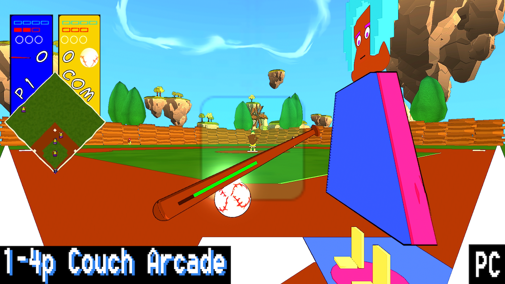 Baseball Xperience - couch multiplayer for PC