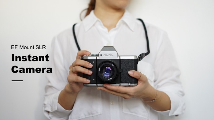 Compatible with Interchangeable lens and instax mini instant film, SL42 makes memories tangible.