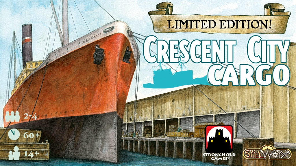 Project image for Crescent City Cargo + Captains of the Gulf Reprint