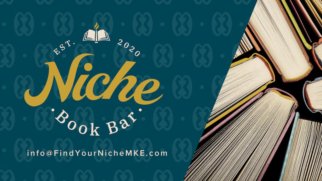 Niche Book Bar: Black Books, Red Wine