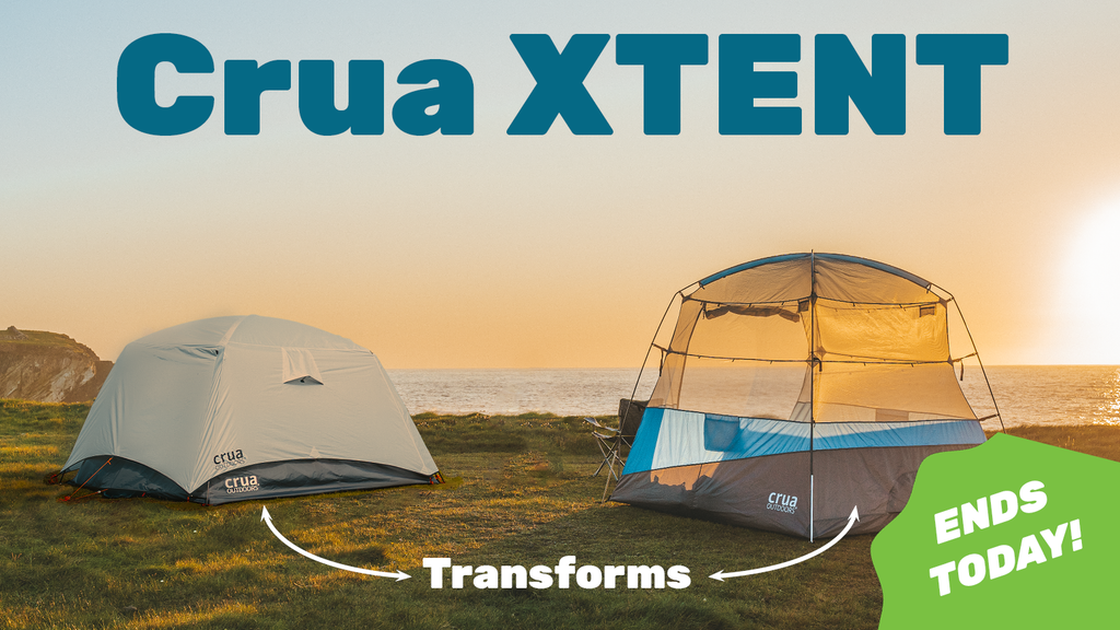 Crua XTENT | Transformable, All-in-One, Carry Anywhere Tent project video thumbnail