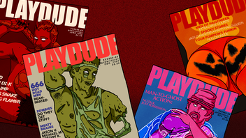 Monster Meat: a gay zine inspired by vintage magazines