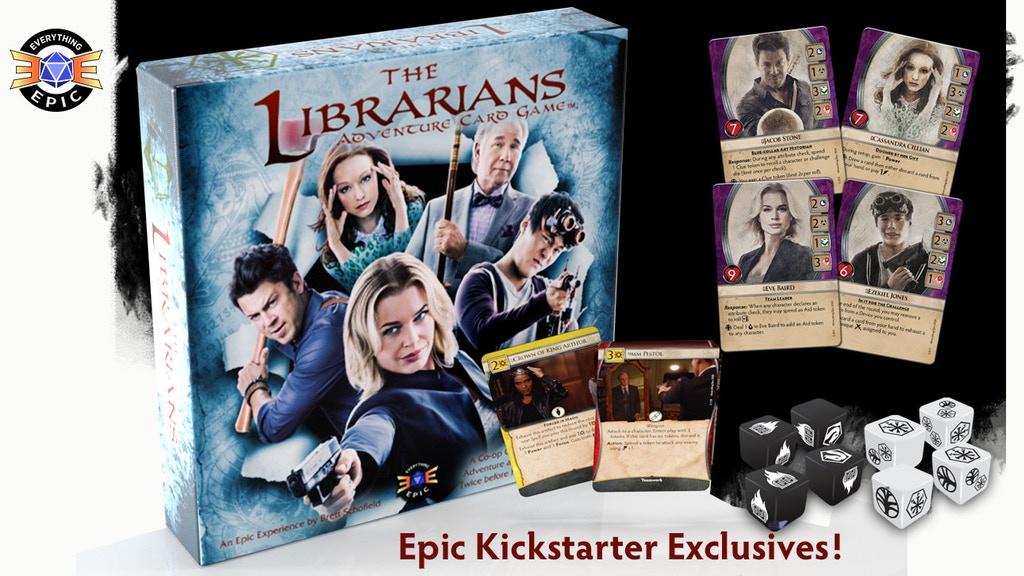 The Librarians: Adventure Card Game project video thumbnail