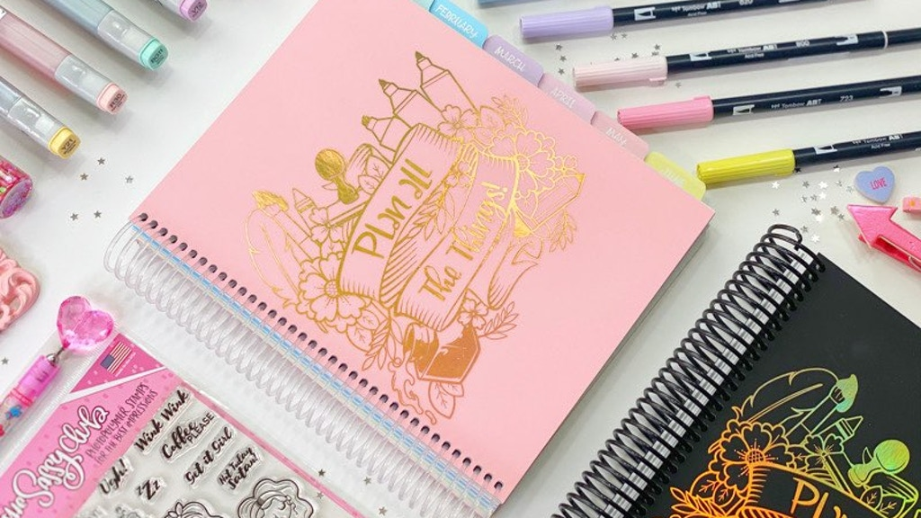 The Sassy Planner - An Artistic Planner project video thumbnail