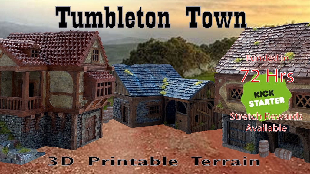 Project image for Tumbleton - A town on the edge of forever!