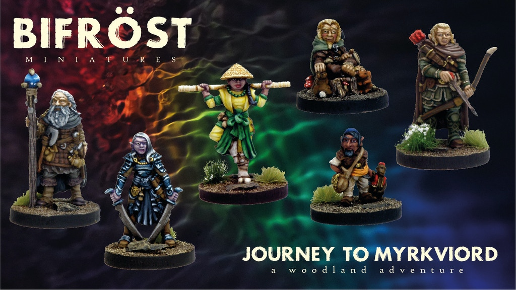Project image for Journey to Myrkviord, A 28mm Fantasy Miniatures Adventure