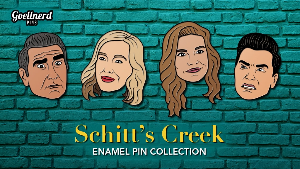 Project image for Schitt's Creek Enamel Pins