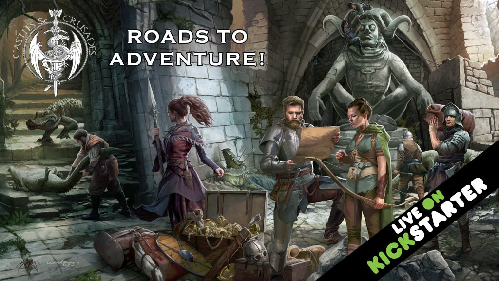 Project image for Castles & Crusades Roads to Adventure