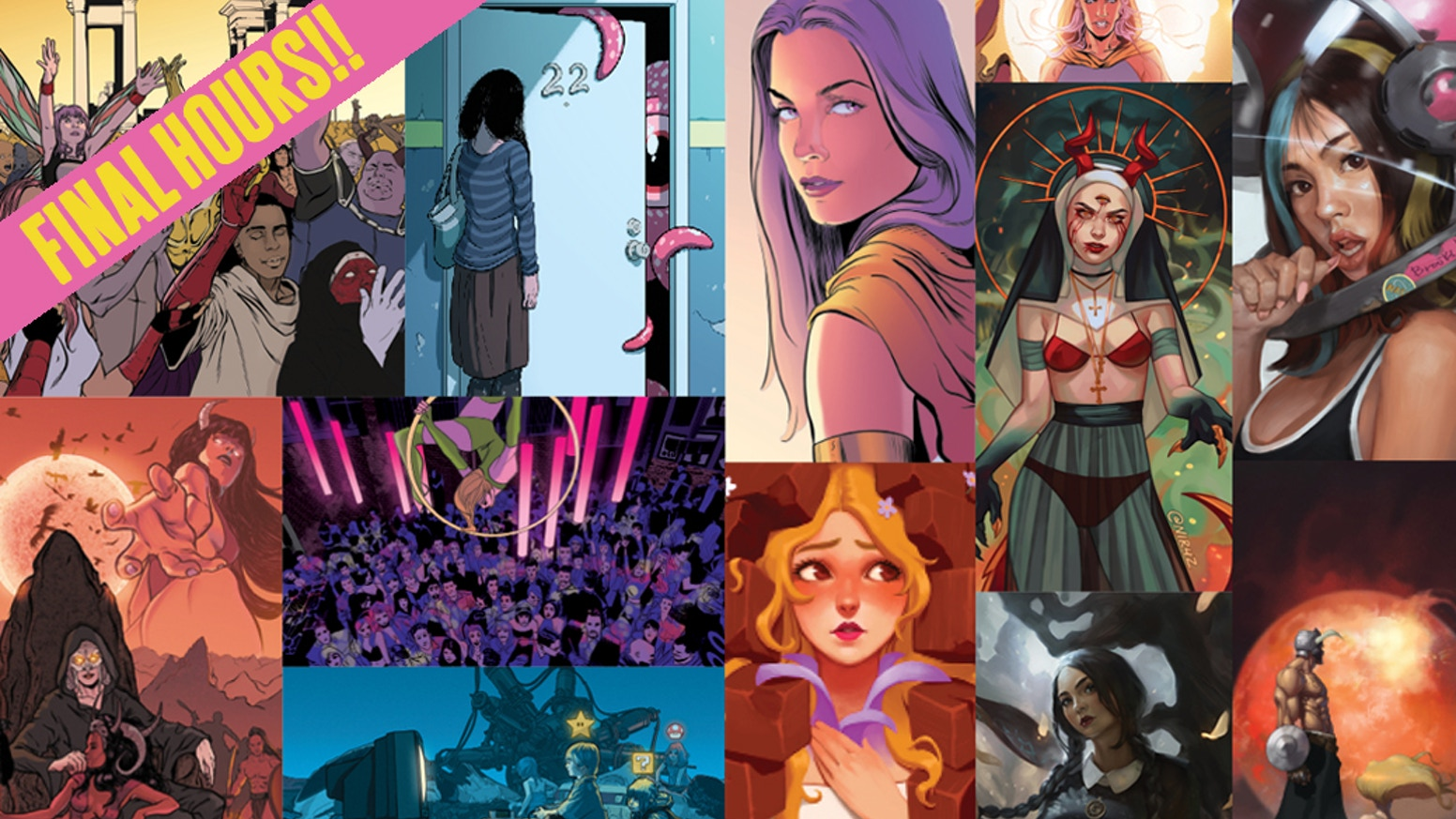 A massive how-to guide for everything to do with digital painting and comic book coloring + digital resource archive.