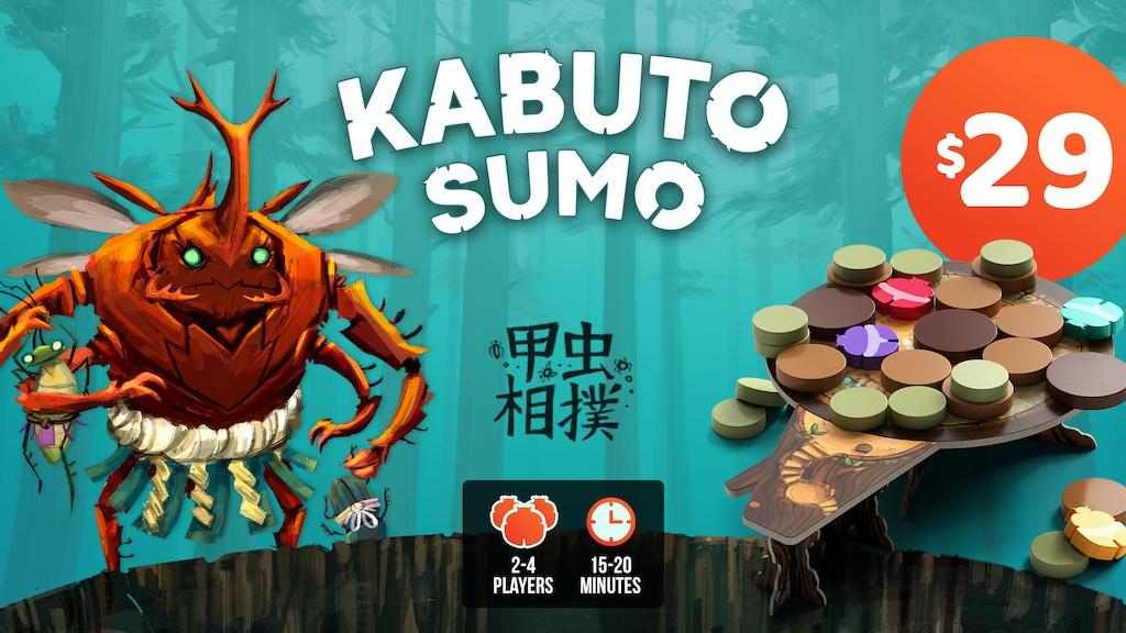 Kabuto Sumo Board Game project video thumbnail