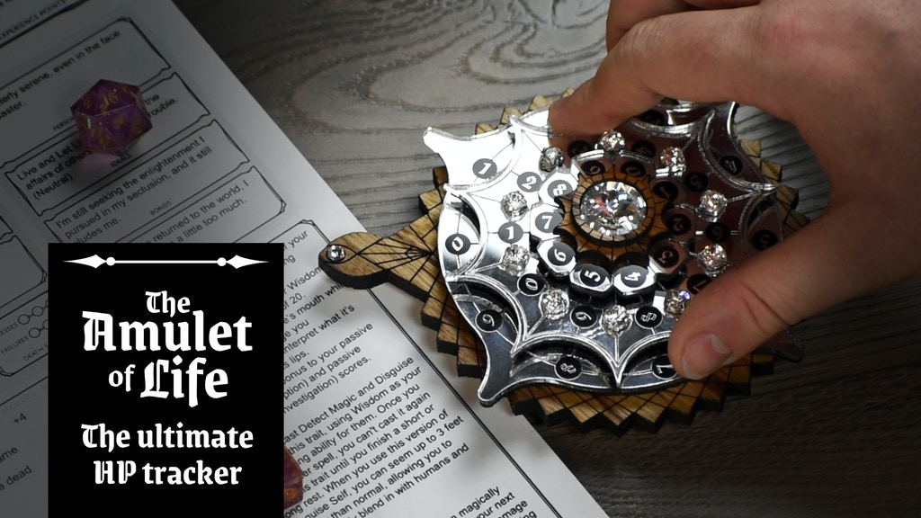 The Amulet of Life project video thumbnail