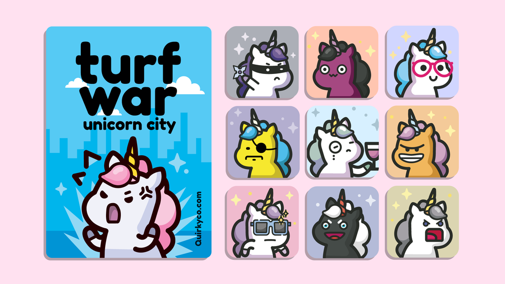 Turf War: Unicorn City project video thumbnail