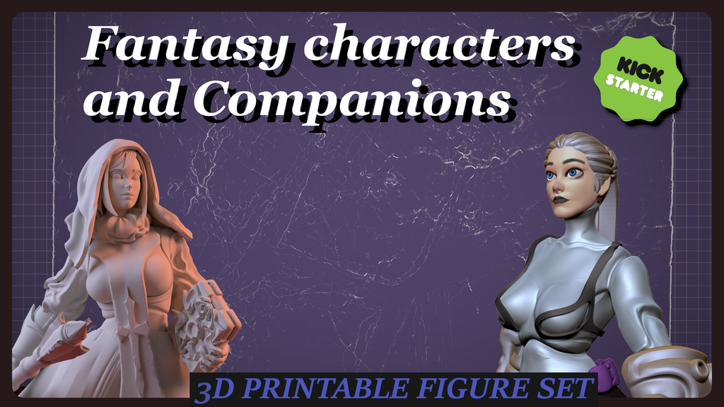 Project image for Fantasy characters and companions