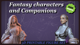 Fantasy characters and companions thumbnail