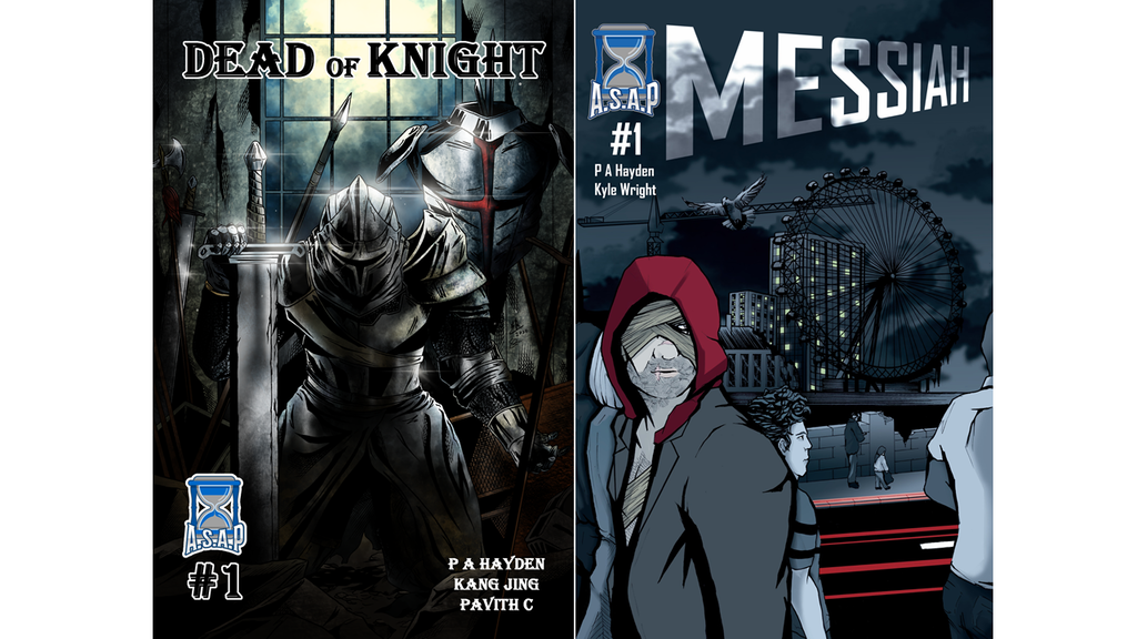 The Launch of Issues 1 of Messiah and Dead of Knight project video thumbnail