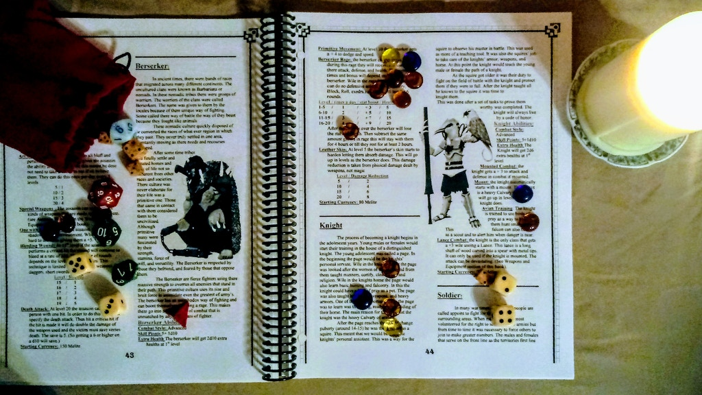 Project image for EvenRa World of Two Suns : Players Hand Book