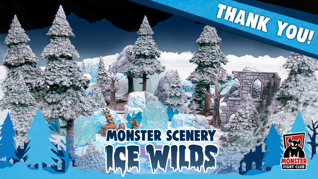 Monster Scenery: Ice Wilds project video thumbnail