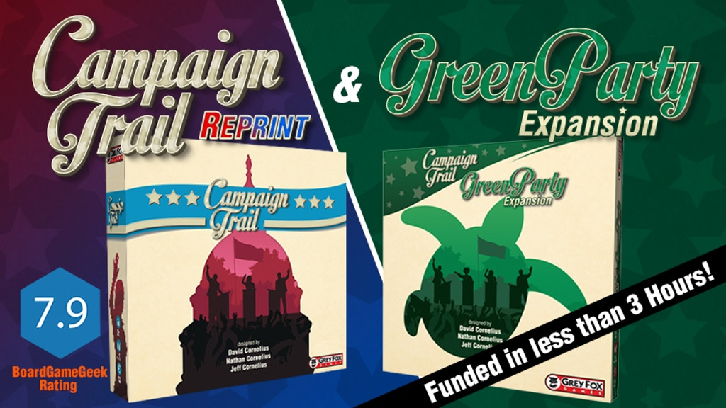 Campaign Trail: Second Edition and Green Party Expansion project video thumbnail