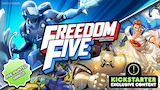 Freedom Five: A Sentinel Comics Board Game thumbnail