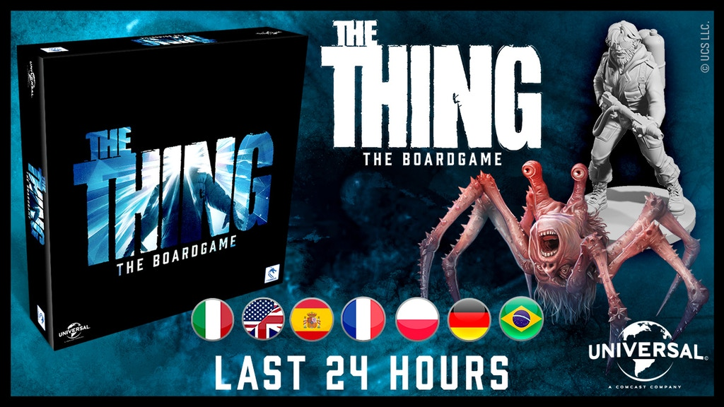 The Thing - The Boardgame project video thumbnail