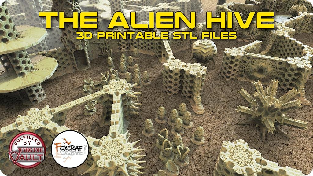 The Alien Hive project video thumbnail