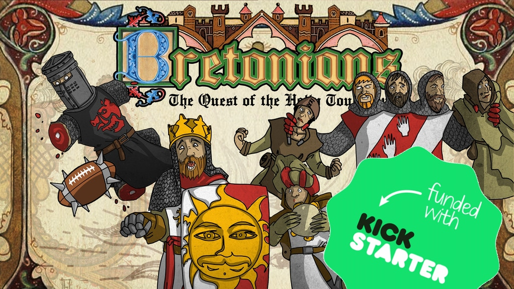 Project image for Bretonians: Quest of the holy TD