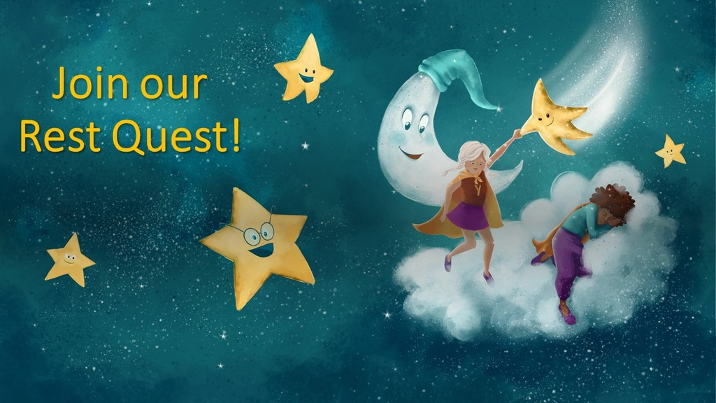 Yogi Superhero Time to Rest - A Children's Picture Book project video thumbnail