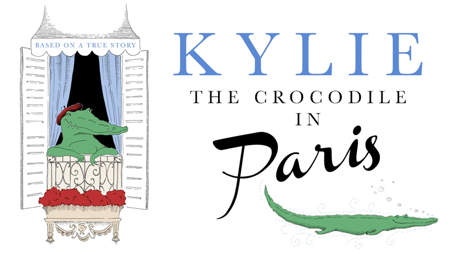 A children's book about a friendly Paris crocodile...Thanks to all who contributed! If you missed the Kickstarter campaign, order your copy on the green button below!