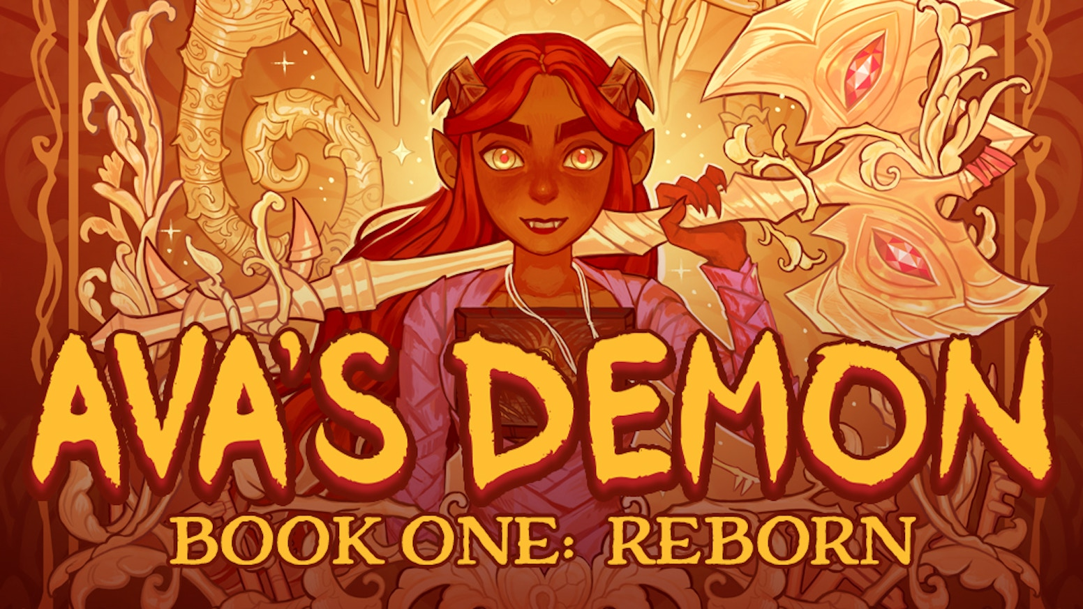 Ava's Demon is a webcomic about a girl named Ava and the demon haunting her. Help me continue her adventures!