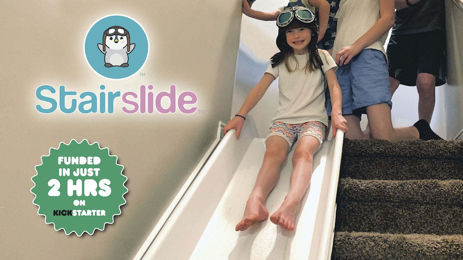 Stairslide Indoor Slide For Stairs By Jacob Webb Kickstarter