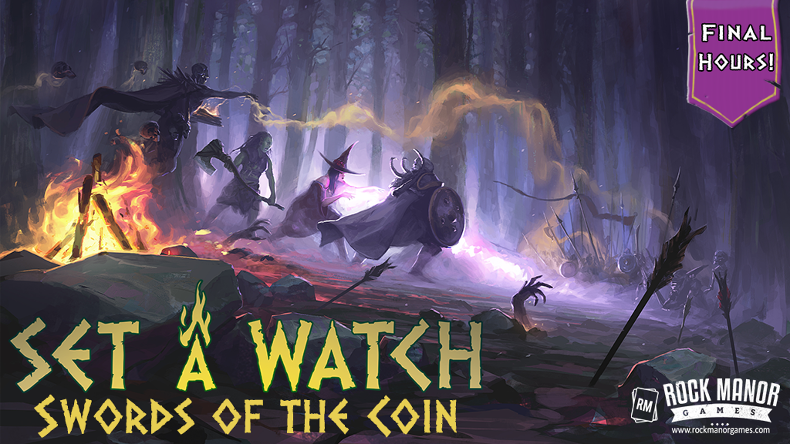 The highly anticipated stand alone expansion to our acclaimed 1-4 player cooperative game, Set a Watch