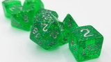 Vitreous Bright Green Dice Sets thumbnail