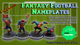 WARG'NAME: STL & Physical Nameplates for Fantasy Football! thumbnail