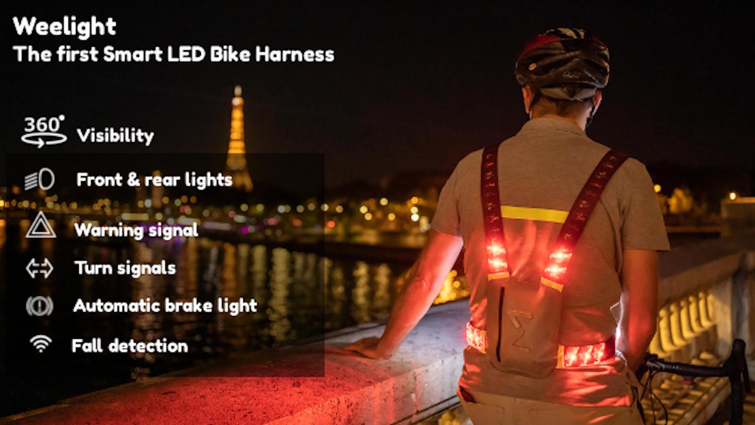 Weelight – The first Smart LED Bike Harness by Weelight — Kickstarter