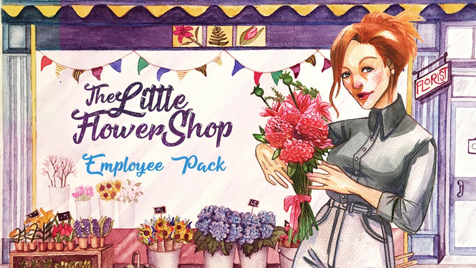 A 10-card mini-expansion for Dr Finn's Little Flower Shop, plus reprints of prior promotional packs.