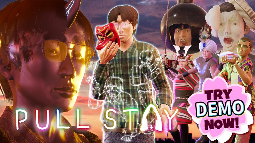 Pull Stay - Japanese Comedy Beat 'em up + Tower Defense Game project video thumbnail
