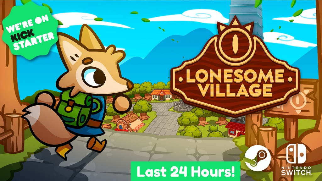 Lonesome Village | Cute puzzle-filled life simulator project video thumbnail